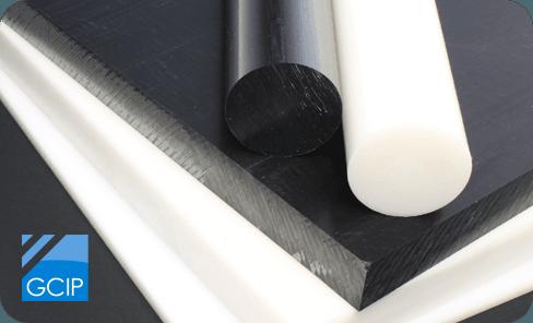 Acetal rod and sheet